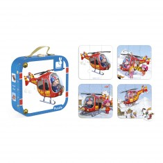 Puzzles : L'hélicoptère de Pierre