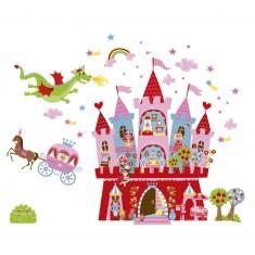 Stickers : Magneti'stick Princesses