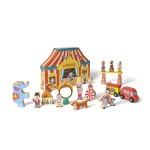 Story Box Circus : 19 pièces en bois