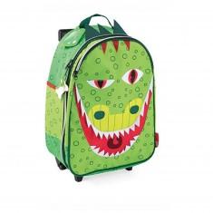Valise à roulettes : Dragon