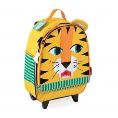 Valise à roulettes : Tigre
