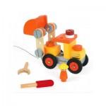 Véhicule en bois à construire : Camion Bulldozer