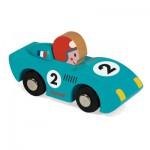Voiture de course en bois : Story Racing Spped : Bleu