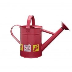Arrosoir métal rouge