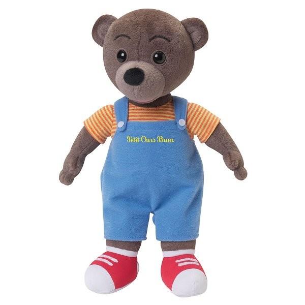 peluche petit ours brun jeux et jouets jemini avenue des jeux. Black Bedroom Furniture Sets. Home Design Ideas