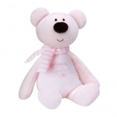 Peluche Luminou Ours rose