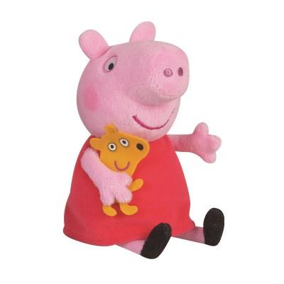 Peluche peppa pig 17 cm jeux et jouets jemini avenue des jeux - Fusee peppa pig ...