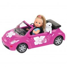 Laura dans sa voiture