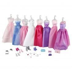 Poupée Jenny : 8 robes et accessoires