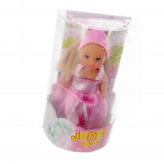 Poupée Jenny : Laura robe rose pâle