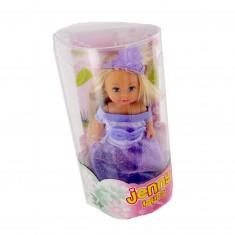 Poupée Jenny : Laura robe violette