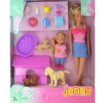 Poupée Jenny animaux : Chiens
