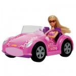 Poupée Jenny et sa voiture