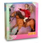 Poupée Jenny et son cheval