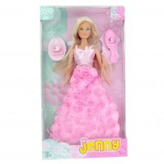 Poupée Jenny gala : Rose pâle