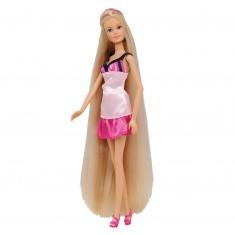 Poupée mannequin rose pâle Jenny longue chevelure