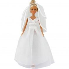 Poupée Jenny Mariée : Robe de mariée tulle