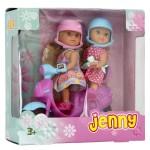 Poupée mannequin Jenny : Laura et son scooter