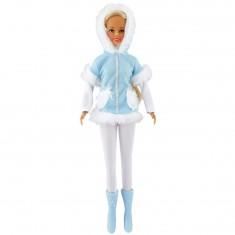 Poupée mannequin Jenny : Tenue d'hiver Bleue