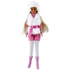 Poupée mannequin Jenny : Tenue d'hiver rose