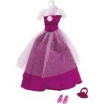 Vêtements pour poupée Jenny : Robe de soirée violet