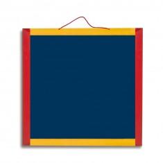 Ardoise en bois 45 x 45 cm réversible et magnétique