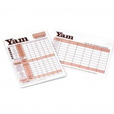 Bloc de score du jeu Yam