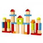 Blocs de construction : 40 pièces en bois