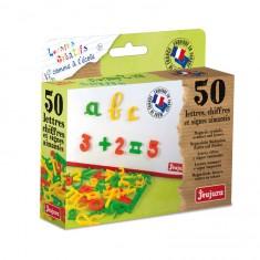 Coffret 50 lettres cursives Aimantées