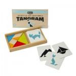 Coffret en bois : Tangram