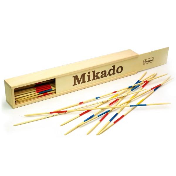 grand jeu de mikado coffret en bois 50 cm jeux et jouets jeujura avenue des jeux. Black Bedroom Furniture Sets. Home Design Ideas
