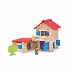 La maison en bois : 140 pièces