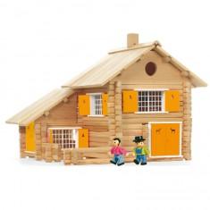 La maison en rondins 240 pièces