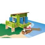 La maison sur pilotis en bois : 100 pièces