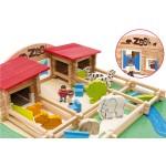 Le zoo en bois : 160 pièces