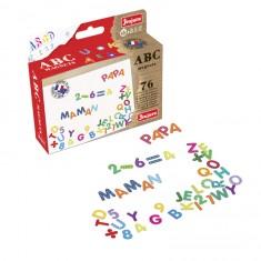 Magnets ABC et chiffres pour tableaux en bois