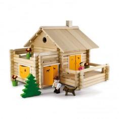 Maison en rondins de bois 175 pièces