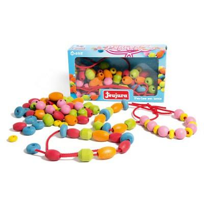 perles en bois tecap jeux et jouets jeujura avenue des jeux. Black Bedroom Furniture Sets. Home Design Ideas