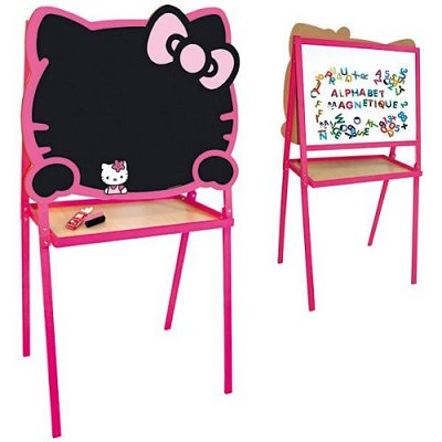 tableau cr atif craie et feutre hello kitty jeujura magasin de jouets pour enfants. Black Bedroom Furniture Sets. Home Design Ideas