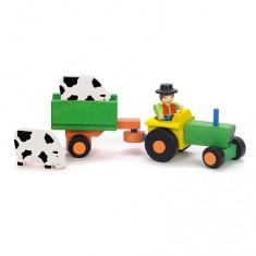 Tracteur et Remorque 4 pièces