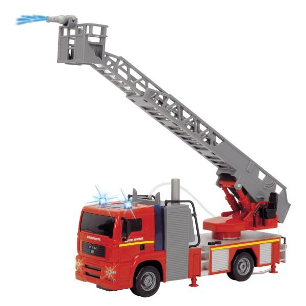 camion de pompier sonore jeux et jouets john world. Black Bedroom Furniture Sets. Home Design Ideas