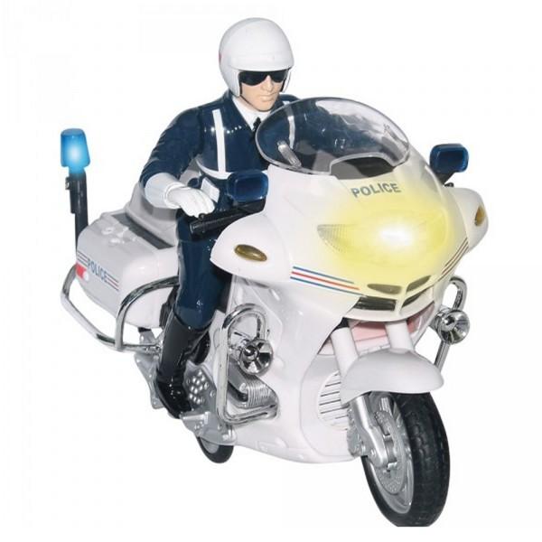 Moto police friction jeux et jouets john world - Jeux de motos de police ...