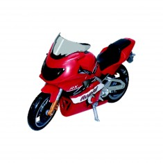 Moto sonore rouge
