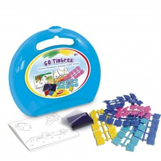 Mallette ronde : 60 timbres