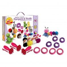 Atelier créatif : Pompons & tricotin