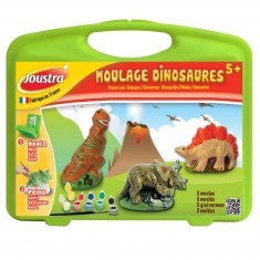 Mallette de loisirs créatifs : Moulage dinosaures