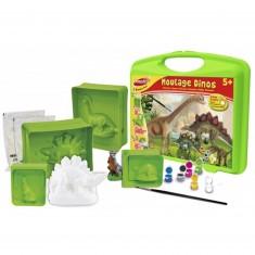 Mallette de moulage : Dinosaures (Grand modèle)