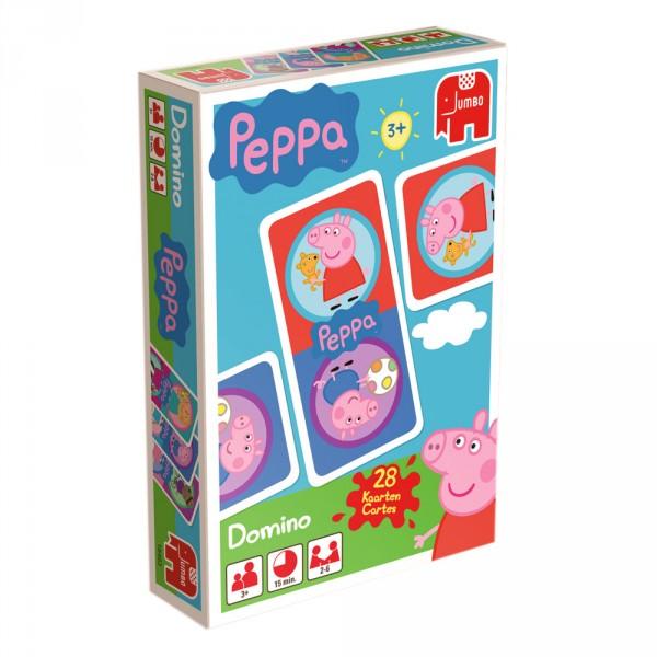 Domino peppa pig jeux et jouets jumbo avenue des jeux - Fusee peppa pig ...