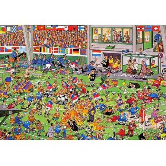 Puzzle 1000 pièces - Jan Van Haasteren : Coup de tête - Jumbo-00030