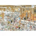 Puzzle 1000 pièces - Jan Van Haasteren : Dans la cuisine